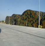 MILITARY SHELTERS AND CAMP SOLUTIONS