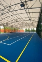 TENT CONSTRUCTIONS FOR SPORTS FACILITIES