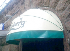 Bucket awnings