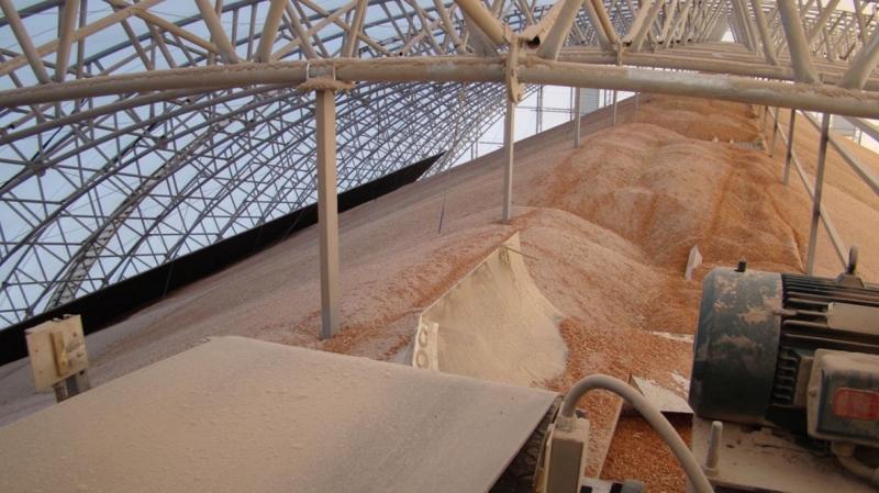 Ангары для зерна своими руками